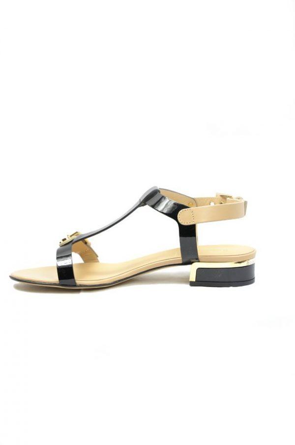 Босоножки на широком каблуке Baldinini