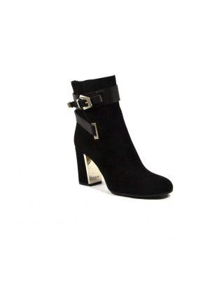 Ботинки Le Silla c металлической вставкой на каблуке
