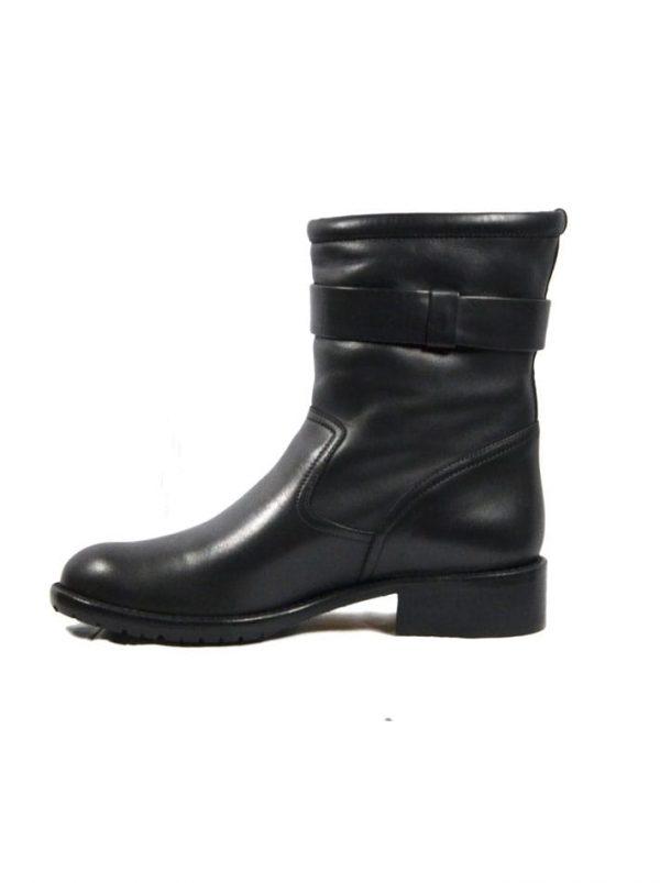 Ботинки Red Valentino кожаные