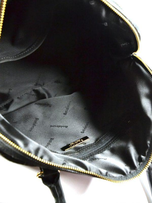 Сумка Baldinini черная кожаная