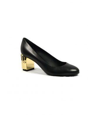 Туфли Ballin на золотом каблуке