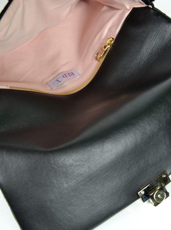 Клатч Red Valentino кожаный