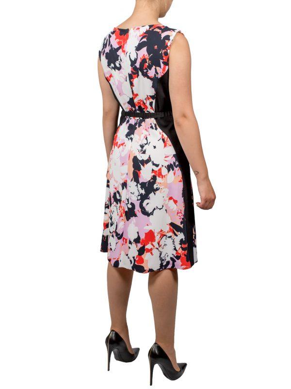 Платье VDP цветное с поясом