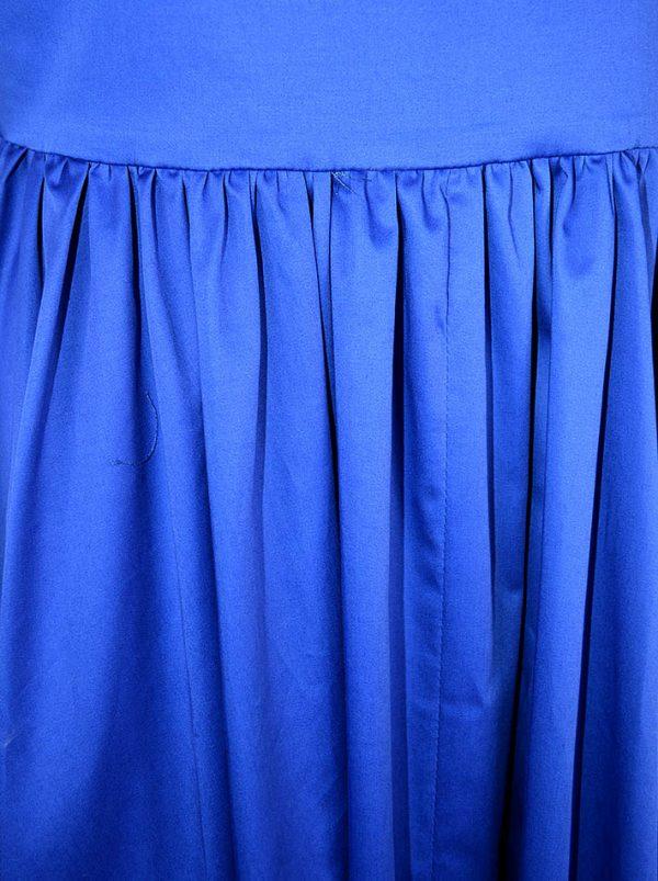 Платье Imperial синего цвета с крылышками
