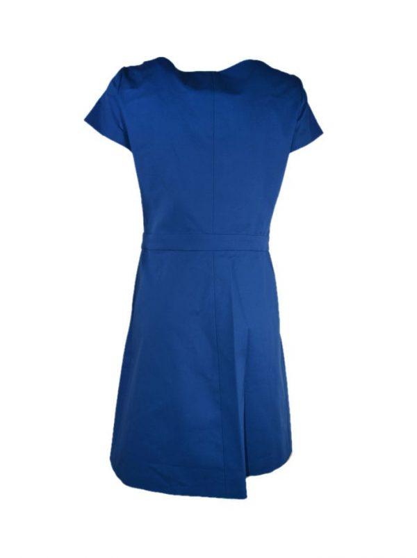Платье Boutique Moschino синее с белыми пуговицами
