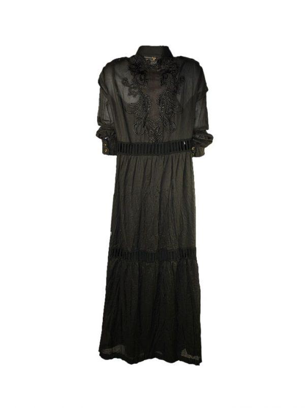 Платье Maria Grazia Severi хлопковое с кружевом на спине