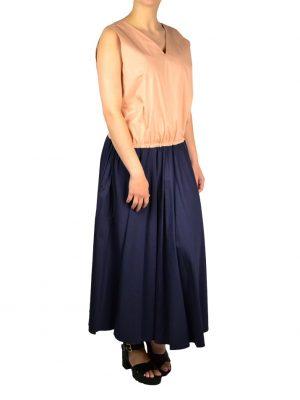 Платье Nolo хлопковое с затяжками по бокам