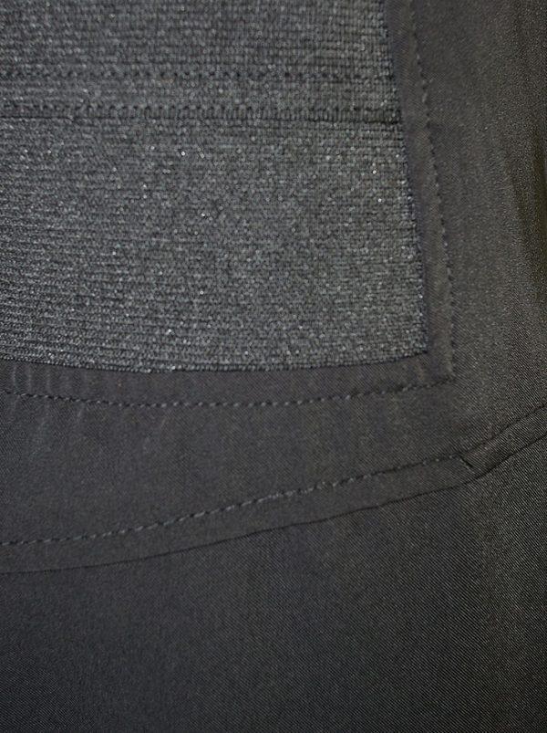 Юбка Sandro Ferrone черная на резинке