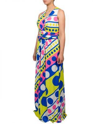 Платье Boutique Moschino c геометрическим принтом