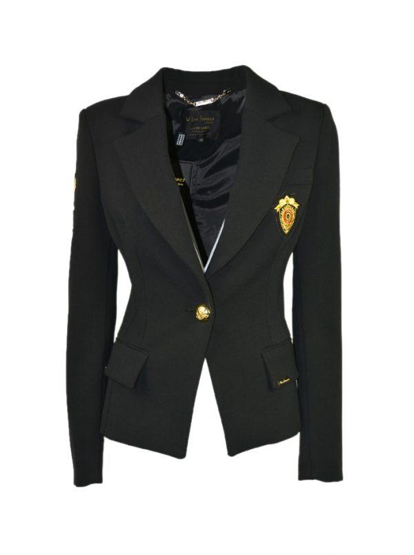 Пиджак W Les Femmes с оригинальными накладками