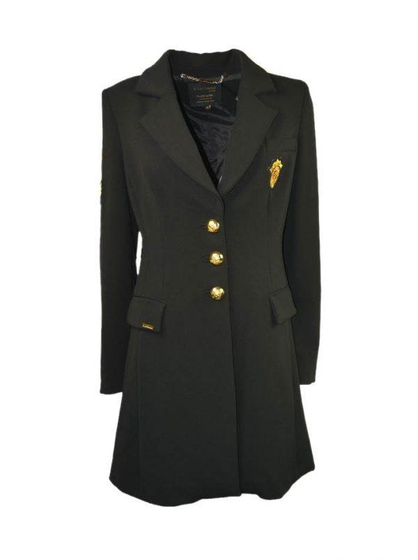 Пиджак W Les Femmes длинный на пуговицах
