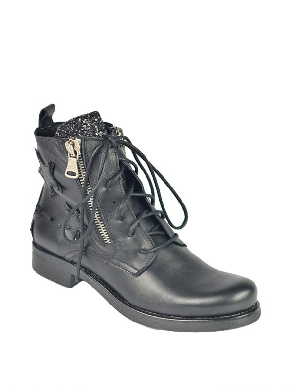 Ботинки Marco Massetti черные кожаные