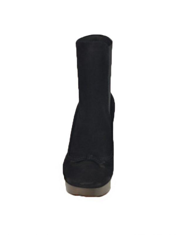 Ботинки Twin-Set черные замшевые