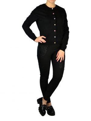 Кардиган Boutique Moschino черный