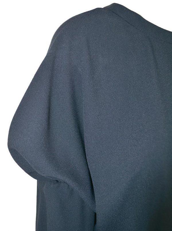 Туника Red Valentino темно-синяя широкая модель