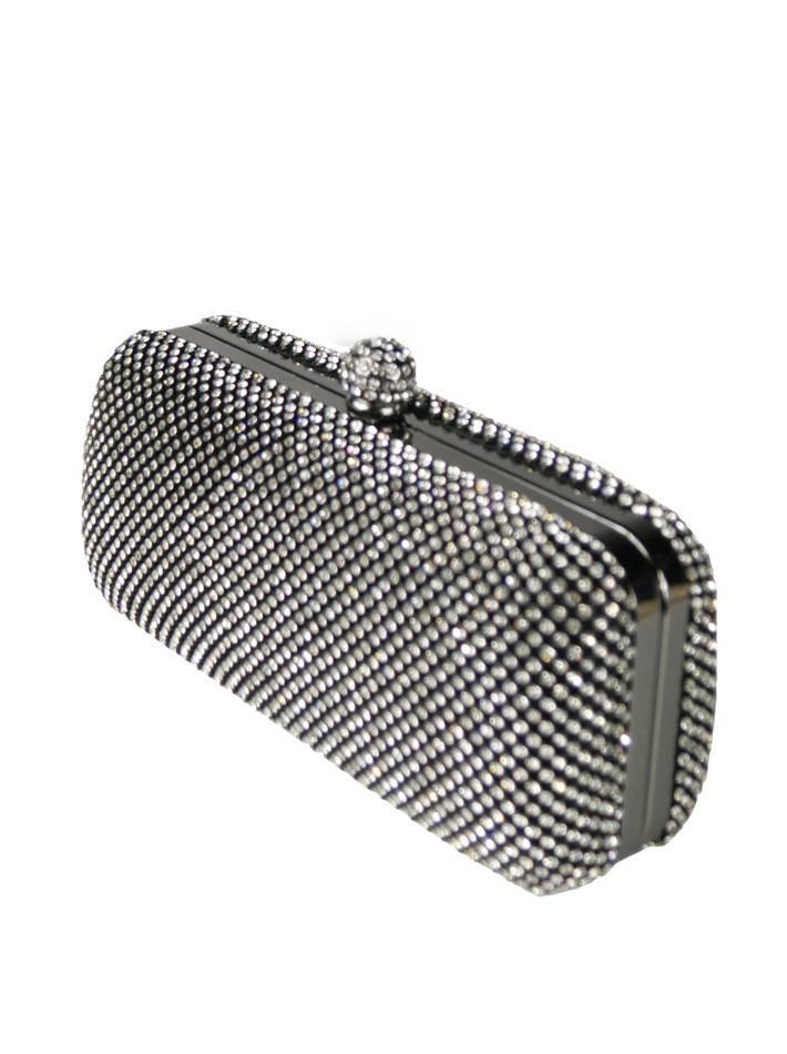 151ff172efa8 Клатч Eurobijoux черный с камнями - цена 3080 рублей, арт. 10150 ...