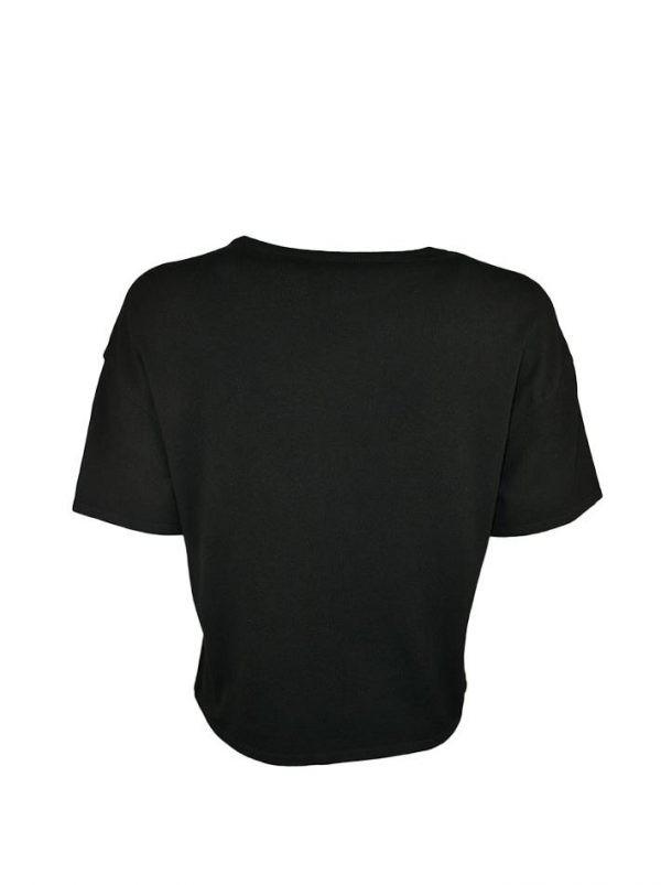 Кофта Boutique Moschino черная с кружевом