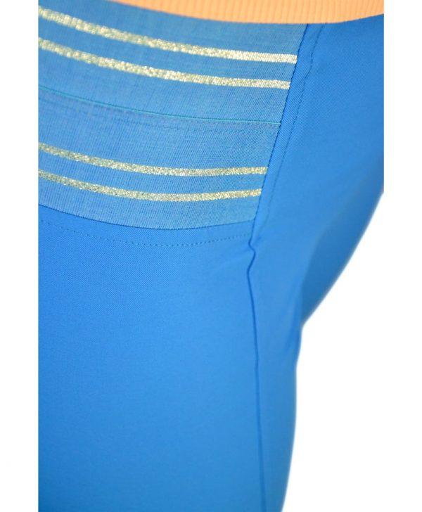 Лосины VDP голубые с резинкой на поясе