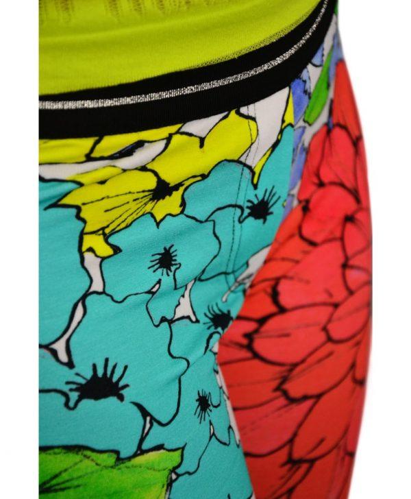 Лосины VDP с цветочным принтом на резинке