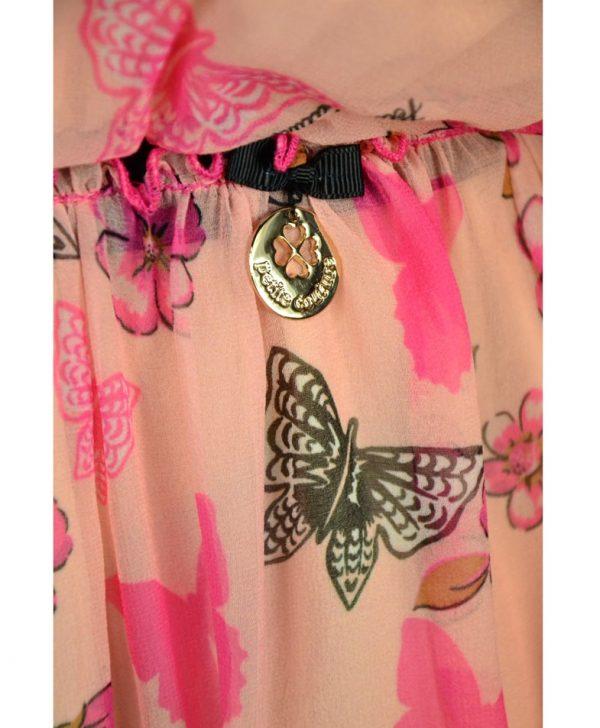 Платье Petite Couture розовое с принтом