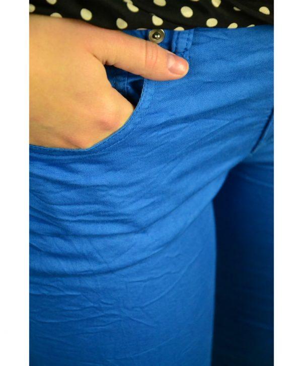 Брюки Amy Gee синие мятые