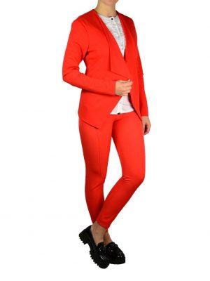 Брюки Sandro Ferrone оранжевого цвета с резинками