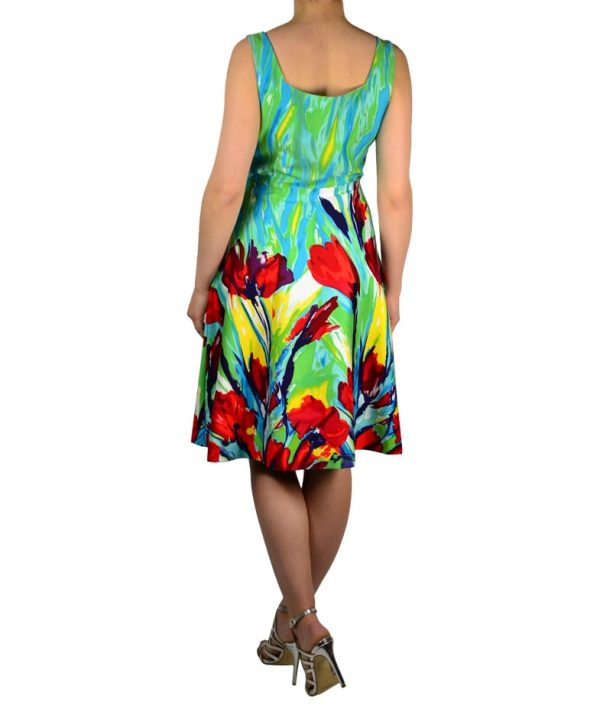Сарафан Paola Morena с цветочным принтом