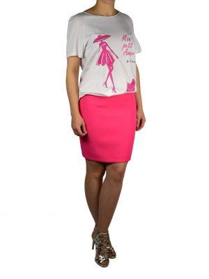 Юбка Versace розовая