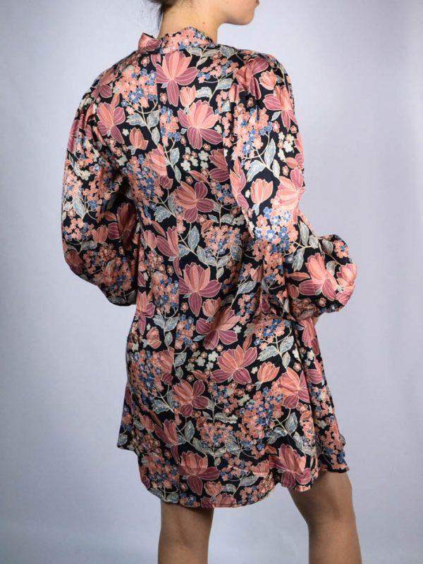 Платье Imperial с цветочным принтом и завязкой