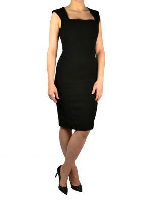 Платье Sandro Ferrone черное