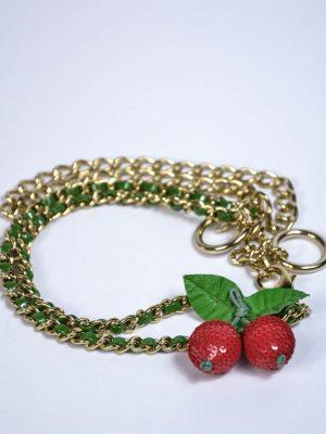 Пояс Red Valentino золотая цепочка с декоративным элементом