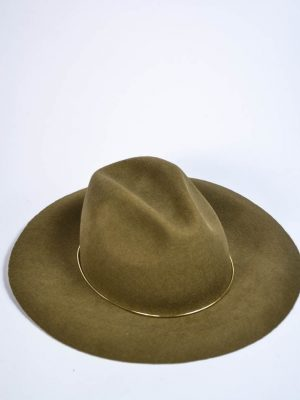 Шляпа Mondana коричневая