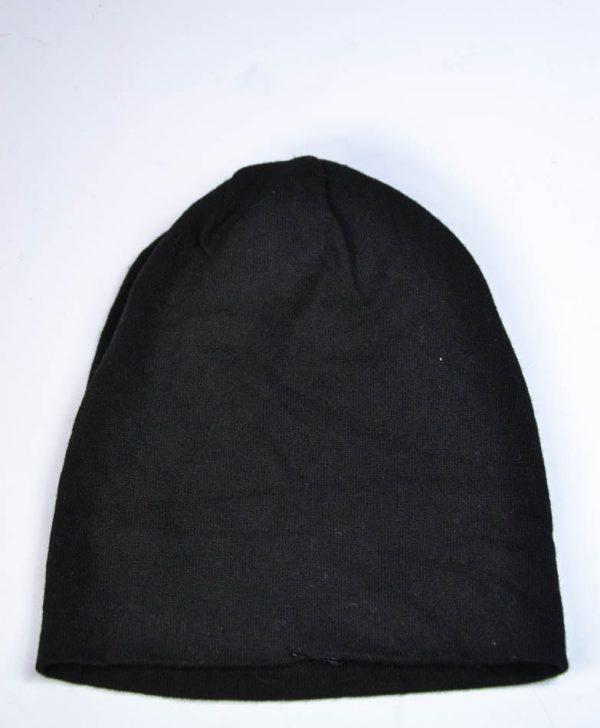 Шапка Mondana черная с рисунком из камней