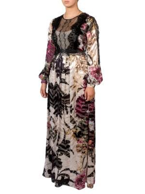 Платье Clips с цветочным принтом