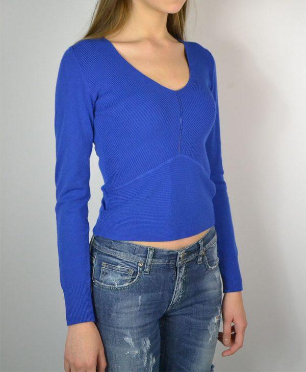 Кофта Vicolo синего цвета трикотажная
