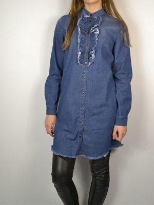 Платье Dixie синего цвета джинсовое
