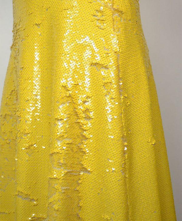 Юбка Dixie желтого цвета пайетки