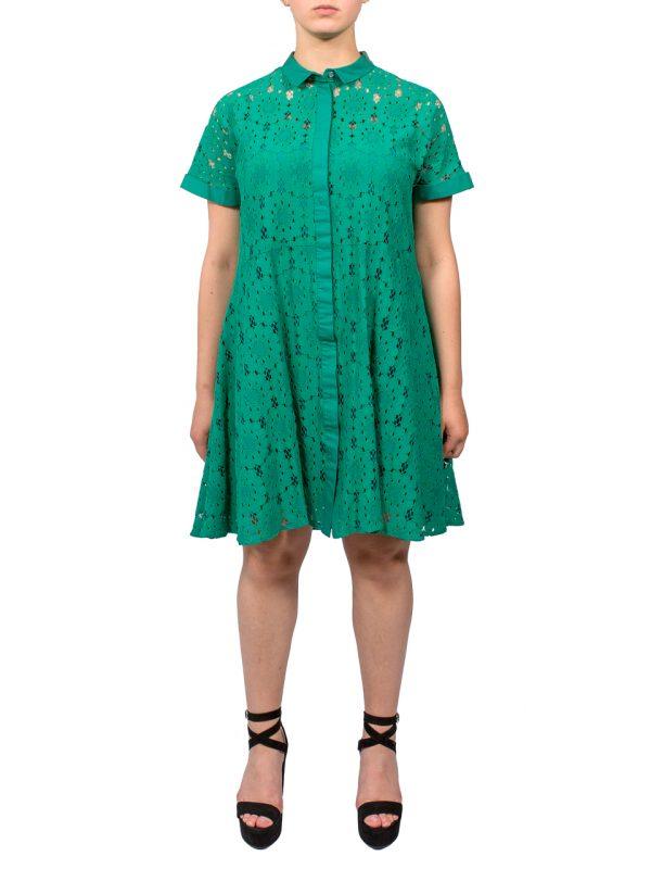 Платье Beatrice зеленое