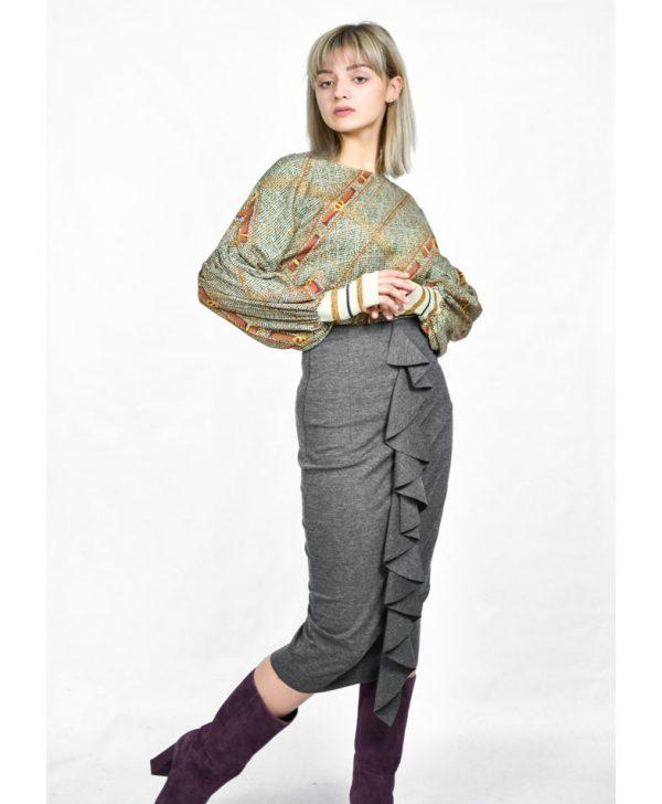 Блуза MaryLey с манжетами