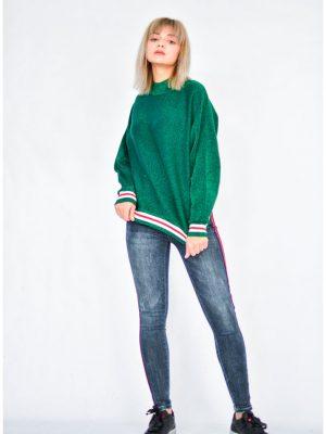 Водолазка Roberta Biagi зеленого цвета