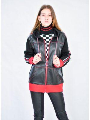 Куртка Tenax черная с капюшоном