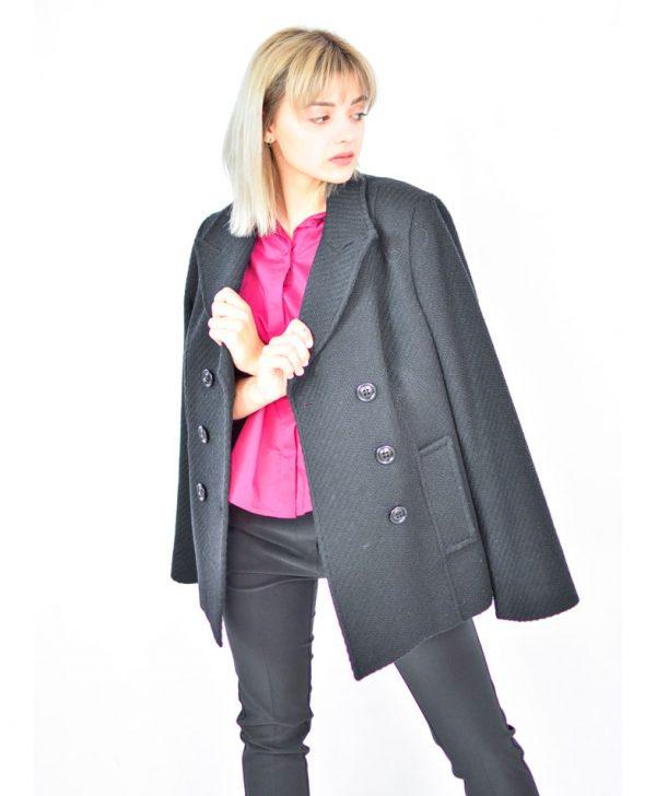 Пиджак Sandro Ferrone черного цвета
