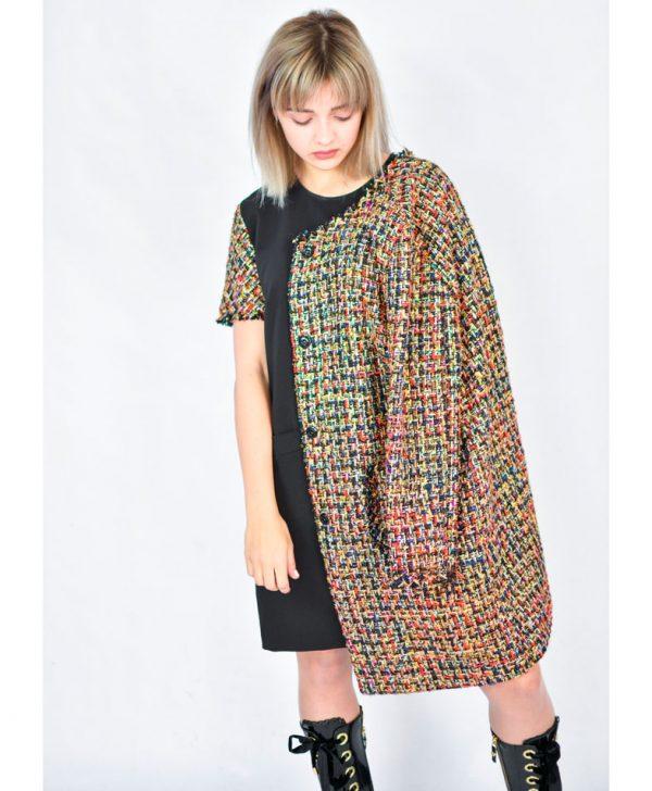 Пальто Imperial цветное с карманами