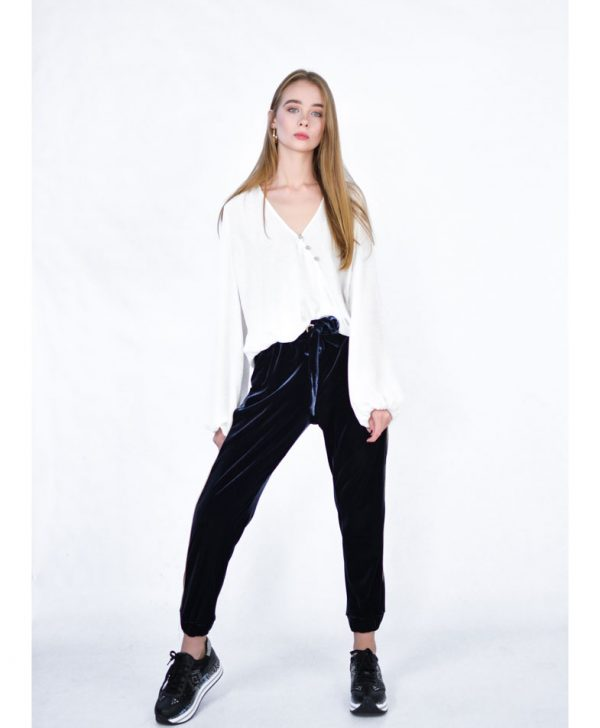 Блуза Eureka белого цвета