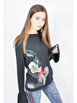 Кофта Mary Daloia черного цвета