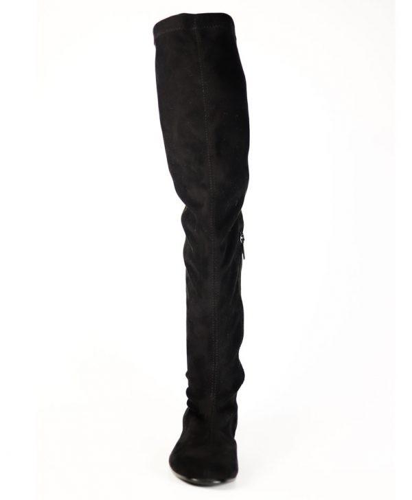 Сапоги Nila&Nila черного цвета замша