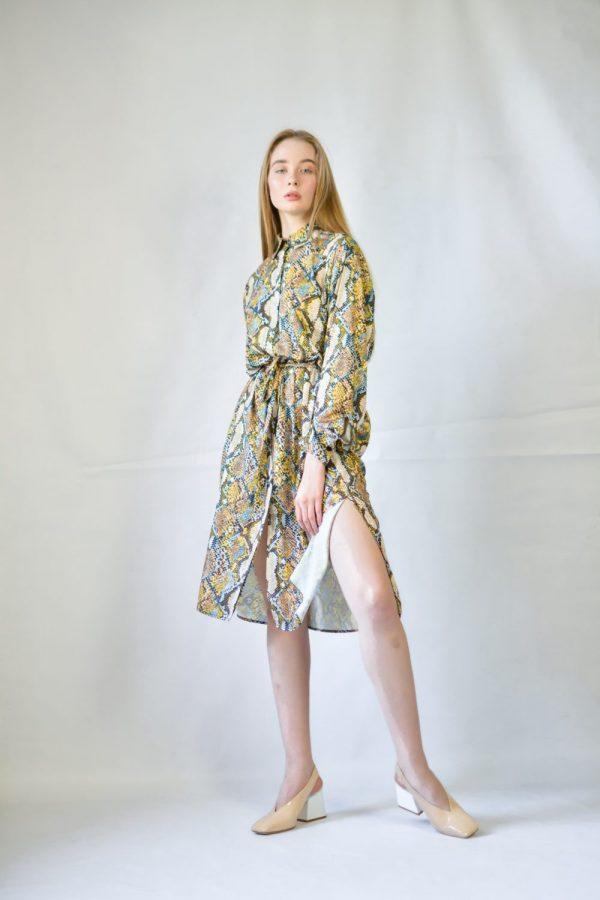 Платье Imperial под питон