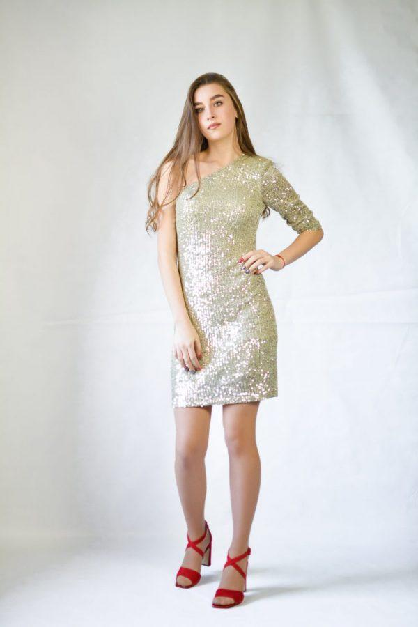 Платье Imperial с паетками