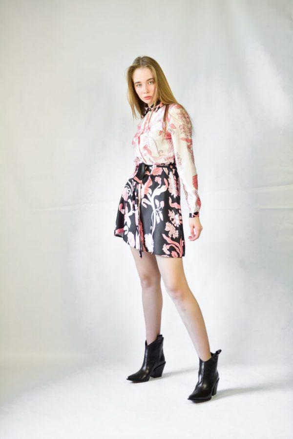 Платье шелк Lumina