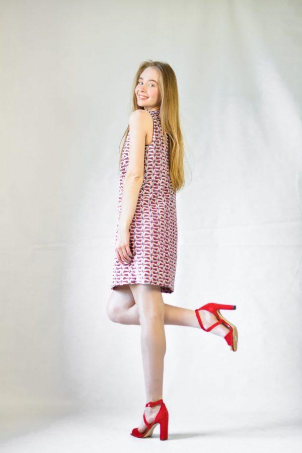 Платье Le Group в ромбик